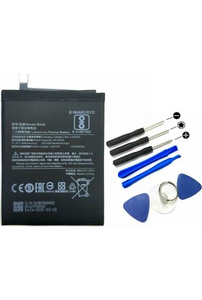 Route Xiaomi Mi A2 - Mi 6x BN36 Batarya Pil + Tamir Seti