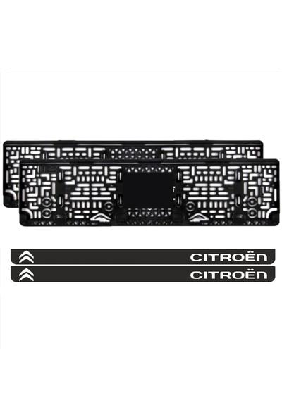 Appcity Citroen Takmatik Pleksi Plakalık 2 Adet