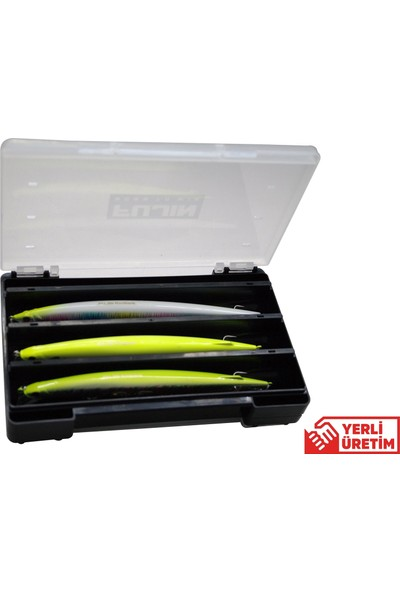 Fujin Tackle Box 21CM Çift Taraflı Maket Balık Kutusu