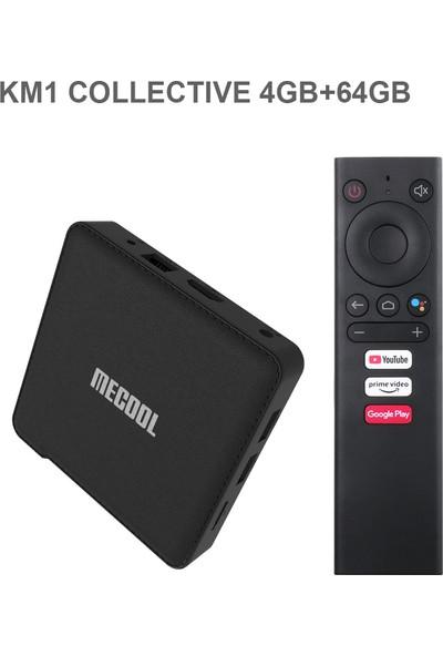 Mecool Km1 Tv Kutusu Deluxe 4 GB + 32 GB S905X3 Dört 64G (Yurt Dışından)