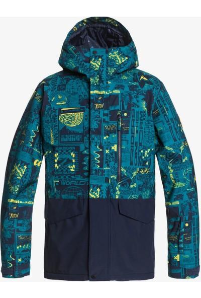 Quiksilver Mıssıon Bloc Jk M Snjt Snowboard Ceketi