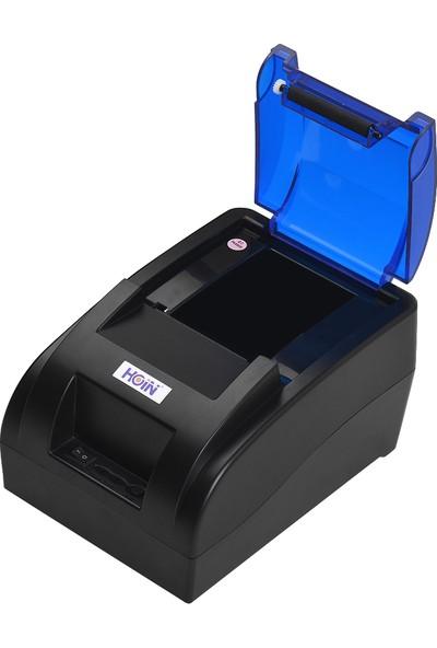 Hoin Bt & USB Arayüzü ile Taşınabilir 58 mm Termal (Yurt Dışından) (Yurt Dışından)