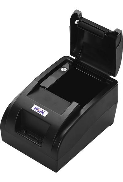 Hoin Küçük Taşınabilir USB 58 mm Termal Makbuz Yazıcı (Yurt Dışından) (Yurt Dışından)