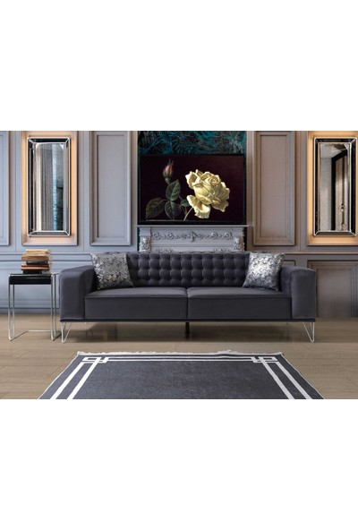 Beyaz Home Collection Square Kanepe