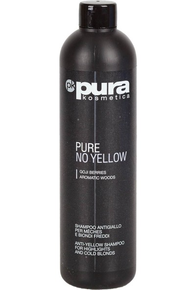 Pura Kosmetica Pure No Yellow Silver Şampuan 500 ml