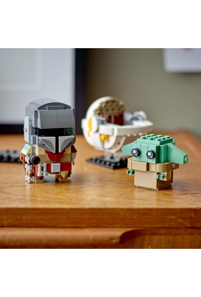 LEGO BrickHeadz Star Wars The Mandalorian & The Child 75317 Yapı Kiti (295 Parça)