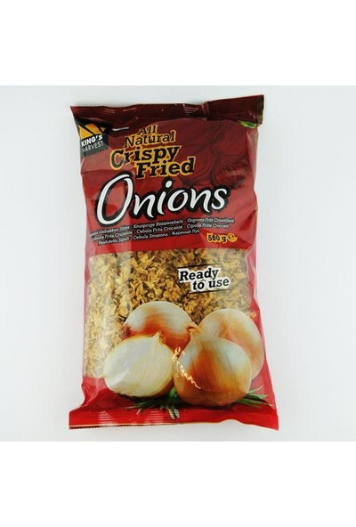 Kings Harvest Kıtır Soğan Crispy Fried Onions 500 gr