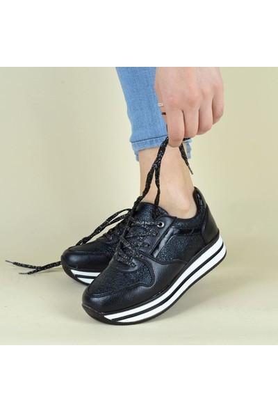 Flet 105 Kadın Kalın Taban Sneaker