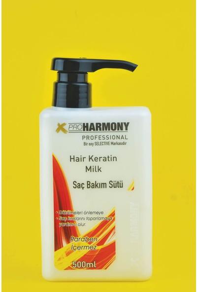 x Pro Harmony Keratin Içerikli Saç Bakım Sütü 500 ml