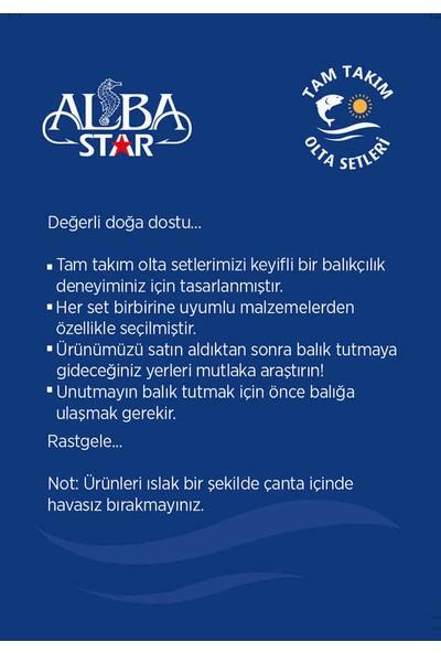 Albastar Tam Takım Usta Kıyı Olta Seti TTS012