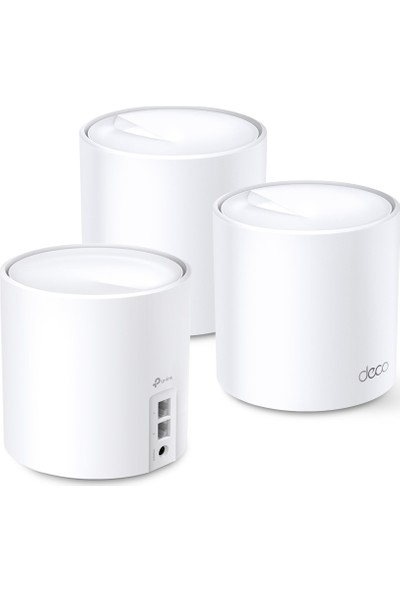 TP-Link Deco X20 AX 1800 Mbps Tüm Ev Mesh Wi-Fi 6 Sistemi ( 3'lü Paket )