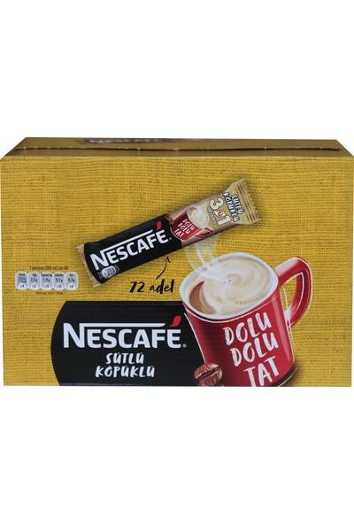 Nestle Nescafe 3'ü 1 Arada Sütlü Köpüklü 72'li 17,4gr 12397895