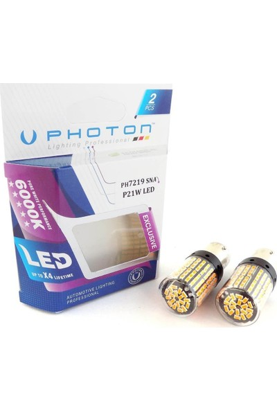 Photon P21W Tek Duy LED Exclusive Serisi PH7219 Sna Sinyal LED
