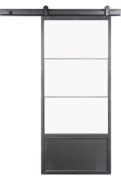 Ahır Kapısı Üstten Montajlı Modeli Sürgü Mekanizması