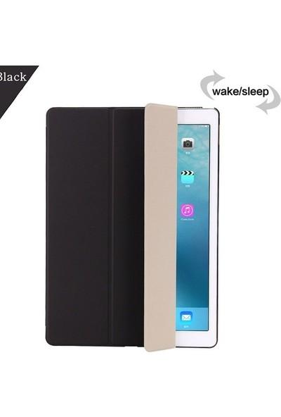Ceplab Samsung Galaxy Tab A7 T507 Kılıf 10.4 Inç Lüx Smart Cover Kılıf + Dokunmatik Kalem