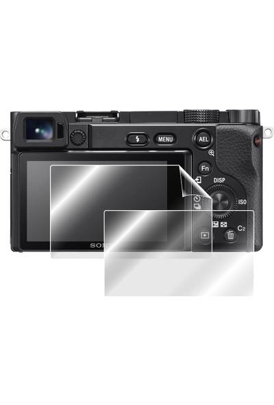 IPG Sony Alpha A6100 - A6600 Mirrorless Kamera Ekran Koruyucu (2 Adet)