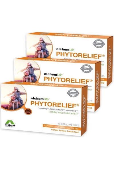 Phytorelief cc 12 Pastil x 3 adet