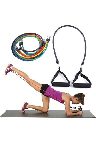 Exeo Pilates Fitness Kondisyon Kardiyo Egzersiz Direnç Lastiği