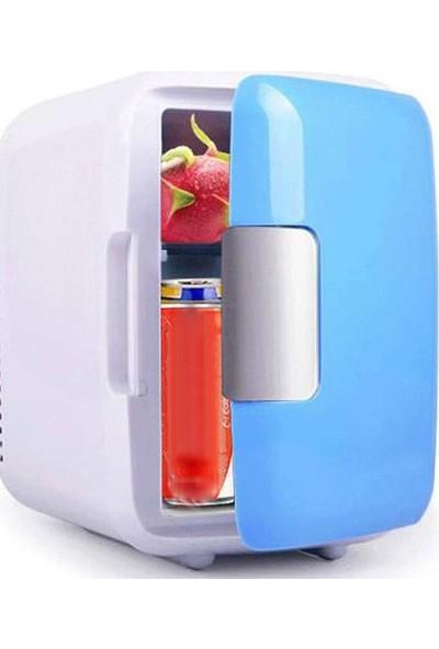 Mini Cooler Araç İçi Mini Buzdolabı 12 V 4 lt