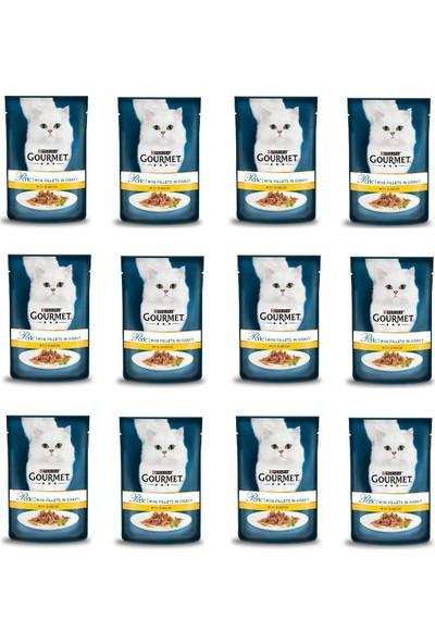 Proplan Gourmet Perle 12 Adet Izgara Tavuk Kedi Konservesi 85 gr