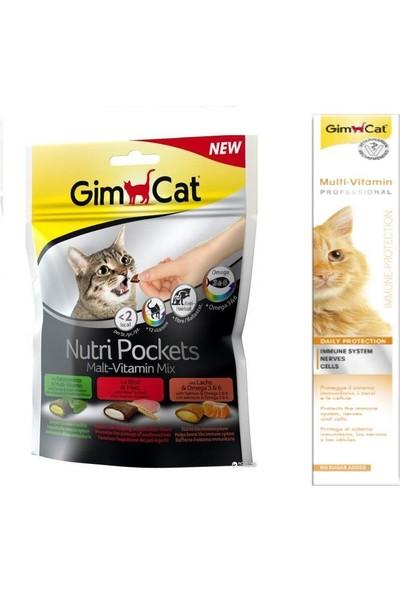 Gimcat Nutri Malt Vitamin Mix Ödül 150 gr + 100 gr Vitamin Kedi