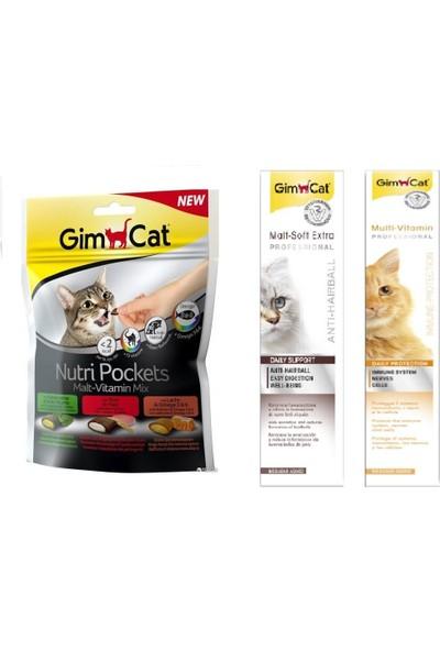 Gimcat Nutri Malt Vitamin Ödül 150 gr + 100 gr Malt + 100 gr Vitamin