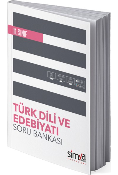 Simya Yayınları 11. Sınıf Türk Dili ve Edebiyat Soru Bankası Kitabı