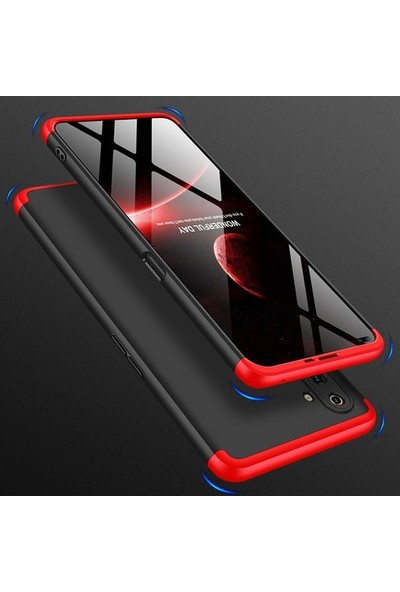 Aksesuarkolic Xiaomi Mi Note 10 Lite Kılıf 360 Derece Kılıf Siyah