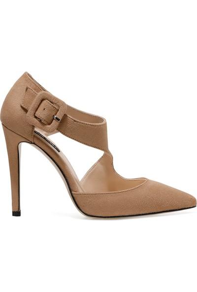 Nine West Estela Vizon Kadın Topuklu Sandalet