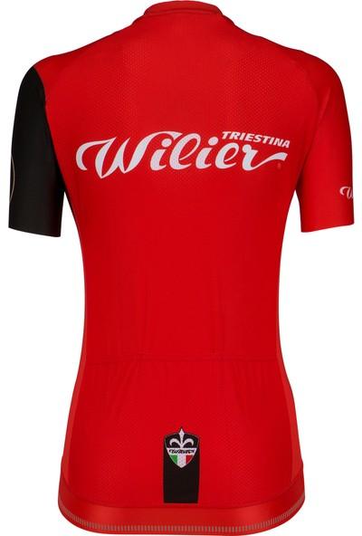 Wılıer Cyclıng Club Bayan Bisiklet Forma Kırmızı M