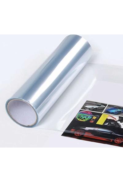 Newdizayn Şeffaf Transparan Far Filmi 30 cm x 4 m