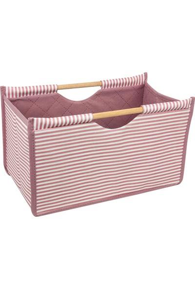 Şimşir Tekstil Tahta Saplı Mini Çanta