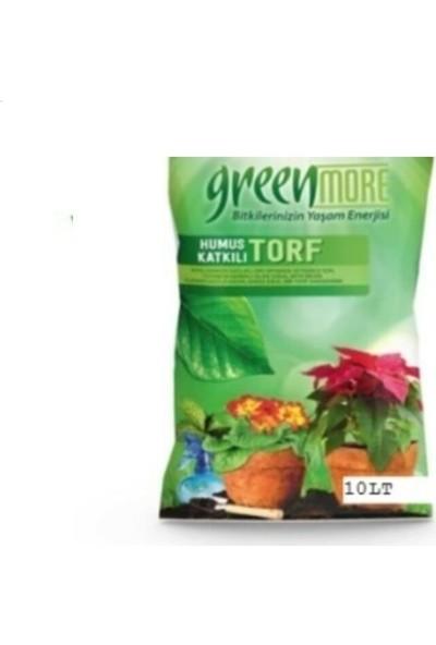 Greenmore Bitki Çiçek Toprağı Torf Humus Katkılı 10 lt