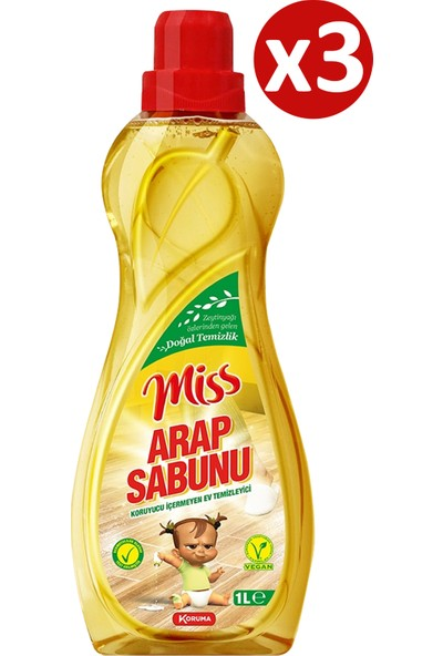 Miss Arap Sabunu 3 x 1000 ml