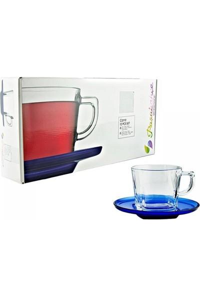Paşabahçe 95307 Carre Çay Fincanı - Kahve Fincanı 6'lı 12 Parça
