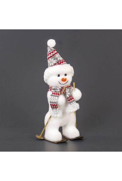 Euro Flora Kardan Adam Yılbaşı Dekoru 18X14X37 cm