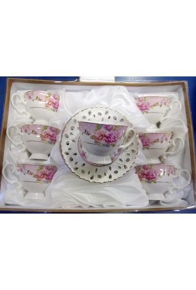 Aryıldız Royal Queen Newbone Kahve Fincan Seti 6'lı