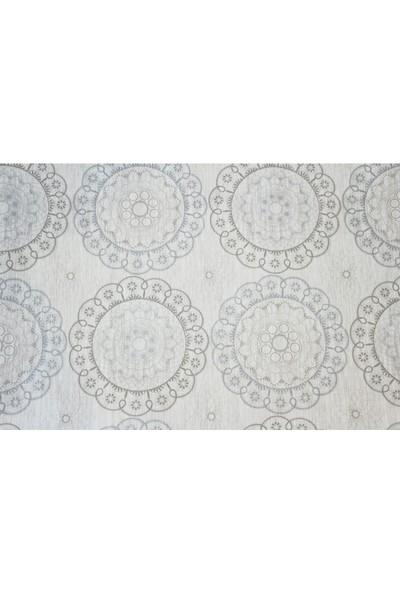 Dede Ev Tekstil Astarlı Silinebilir Pvc Muşamba Masa Örtüsü 1022-1OSM