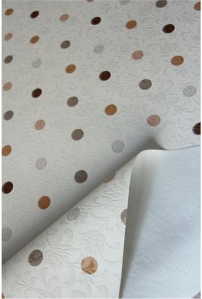 Dede Ev Tekstil Elyaf Astarlı Silinebilir Muşamba Pvc Masa Örtüsü 1035-1KHVPNL