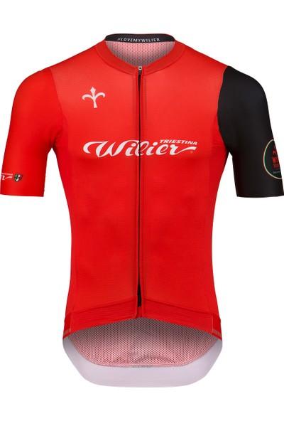 Wılıer Cyclıng Club Yazlık Forma Kırmızı L