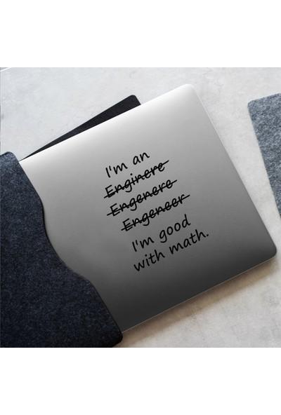 Woohoo Transparan Laptop Sticker Mathematics 7
