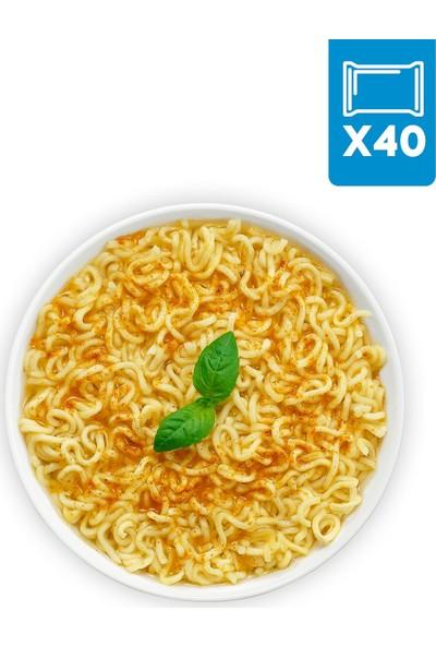 Indomie 40'lı Köri Aromalı Hazır Noodle Koli