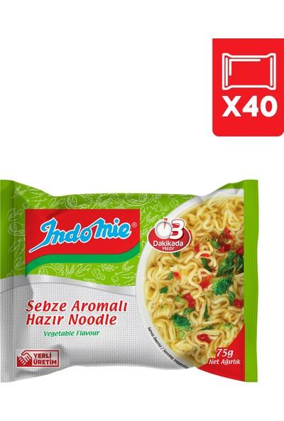 Indomie 40'lı Sebze Aromalı Hazır Noodle Koli