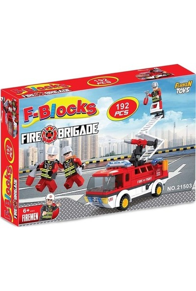 Furkan Toys İtfaiyeci Parçalı Set