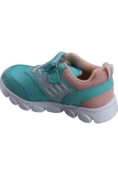 Cool 20-S12 Su Yeşil Kız Çocuk Bebe Günlük Spor Ayakkabı