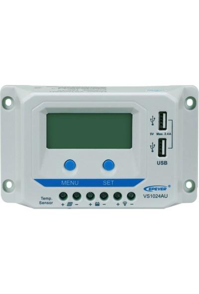 Tommatech 10A Pwm Şarj Kontrol Cihazı 12/24V Au Serisi