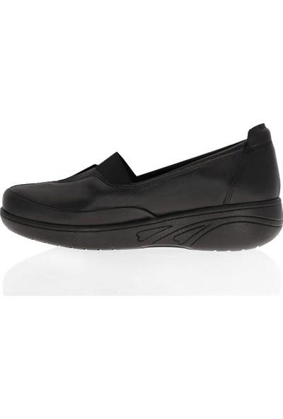 Çizgi 2703 Deri Comfort Kadın Ayakkabı