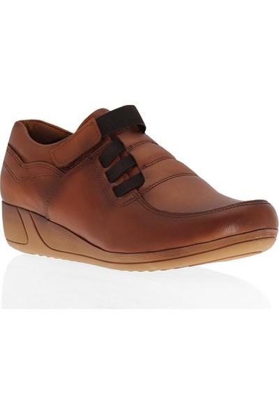 Çizgi 5450 Deri Comfort Kadın Ayakkabı