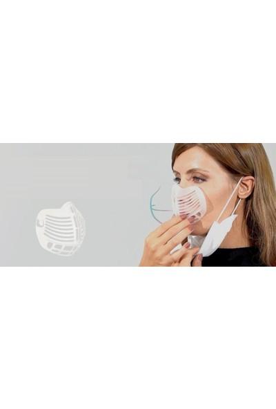 Currved Easy Breath Maske Aparatı 5 Adet