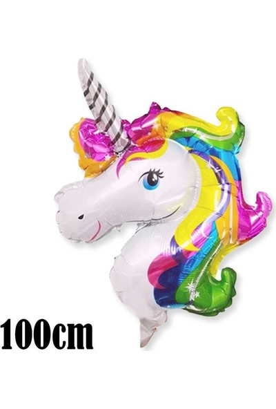 Unicorn Temalı Folyo Balon 100 cm